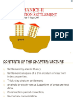 Lecture -Chapter 2- Settlement Analysis