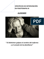 Intervención en el paciente con Alzheimer