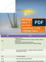 Training & Workshop Feb 18th 2014 Berouaghia Teaching Writing