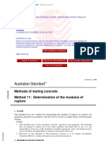 As 1012.11-2000 Methods of Testing Concrete - Determination