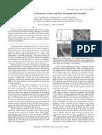 Thin and Wide Tin-doped ZnO Nanobelts