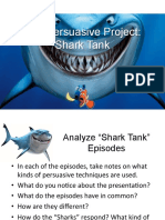 the persuasive project - shark tank - updated  2