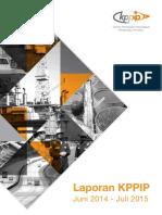Laporan KPPIP Versi Juli 2015