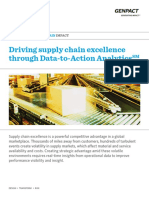 Driving Supply Chain Excellence Through Data to Action Analytics
