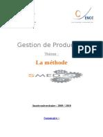 Destion Par La Methode Smed (