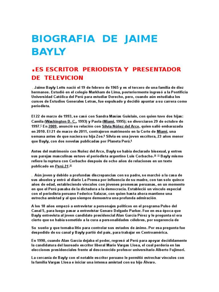 Biografia De Jaime Bayly Entretenimiento General Politica General 1200 x 803 jpeg 124 кб. biografia de jaime bayly