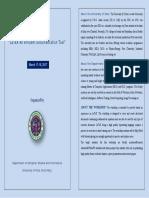 LaTex Brochure Website