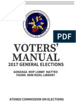 2017 Voters' Manual
