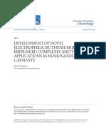 DEVELOPMENT OF NOVEL ELECTROPHILIC RUTHENIUM(II) AND IRIDIUM(III).pdf