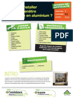 Comment Installer Une Baie Vitree Coulissante en Aluminium