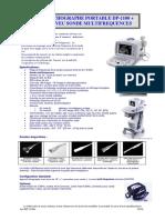 FR-Echographe 1100 Portable