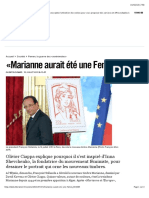 «Marianne aurait été une Femen» - Libération