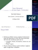 TSK205 Kuliah11 ElemenRangkaianSekuensial v201403