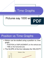 6.2 - Position Time Graphs