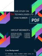 SM Technologies Ltd case presentation