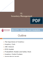 SCA 12 - Inventory Management