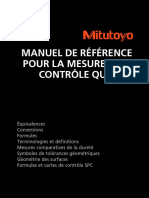 2 Mitutoyo Manuel de Reference Pour La Mesure Et Le Controle Qualite