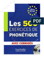 500 Exercices de Phonetique