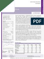 Sharda Cropchem IDFC Research Report