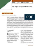 Territorios en Pugna. Las Villas de Buenos Aires