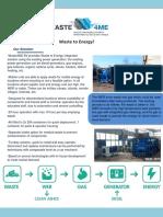 Waste4me Wer Diesel Product Sheet 2015