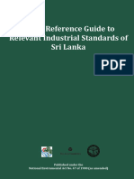 Enviromental Foundation Quick Refernce Gide to Relevant Indusrial Standards of Sri Lanka A4 Bookred.
