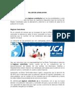 Taller Sobre Regimenes de Salud en Colombia y La Upc