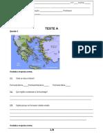 Teste 7A Grécia - 2016-2017