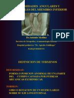 Deformidades Angulares y Rotacionales en Pediatria