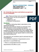5. Project Financing & Budgeting PM0003 Sem-3