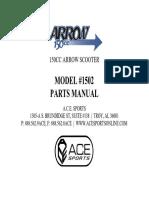 ACE Parts Manual Arrow