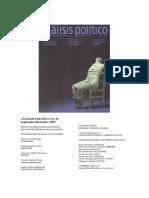 Analisis Político38 (Artículo Fals Borda)