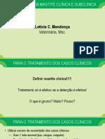 Aula 10 - Tratamento Da Mastite Clinica e Subclinica
