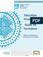 Financial Education Trainers Guide (French)