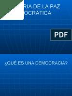 Teoria de La Paz Democratica