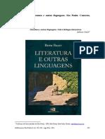 Literatura e Outras Linguagens ANÁLISE