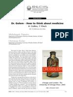 Doutor Golem (Resenha)