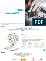 Funcionalidades Campus Virtual