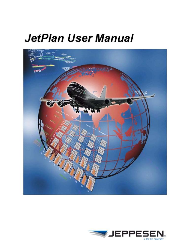 JetPlanUserManual Pdf Mand Line Interface