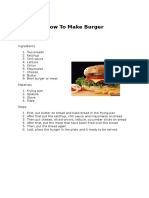 How To Make Burger.docx