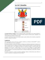 Escalafón Militar de Colombia