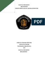 Manual Prosedur Bedah Buku