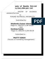 Copy of the Comparison of the 4 Ps of the Nestle India Ltd Shailendrfa