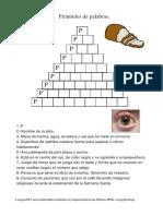 Piramide de Palabras