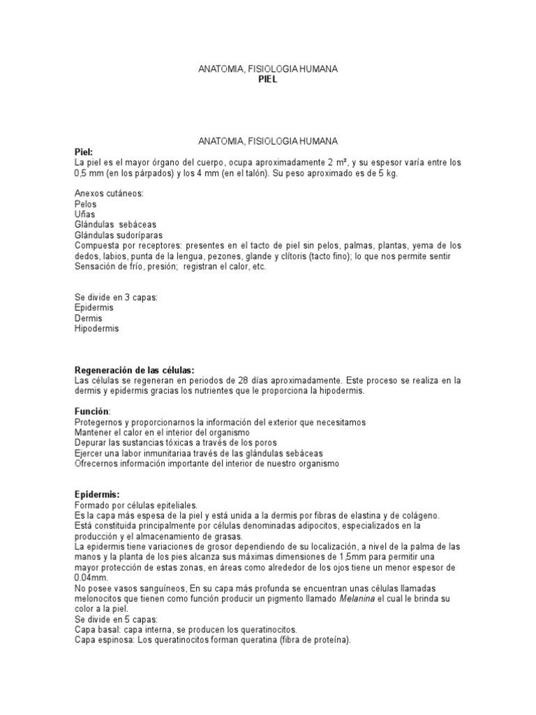 Asombroso Anatomía Y Fisiología Marieb 5ª Edición Pdf Composición ...