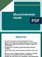 Musculoskeletal Health