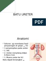 ureter stone batu ureter.pptx