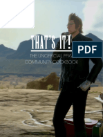 Unofficial FFXV Community Cookbook v1.0.1