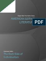 Edgar Allan Poe Gothic Literature