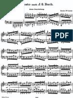 Brahms - Study 3 - Sauer